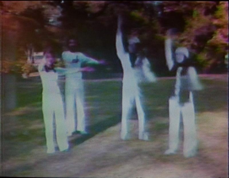 Satellite Arts 1977, 1977, Kit Galloway and Sherrie Rabinowitz (Mobile Image). Video stills. Copyright Kit Galloway.